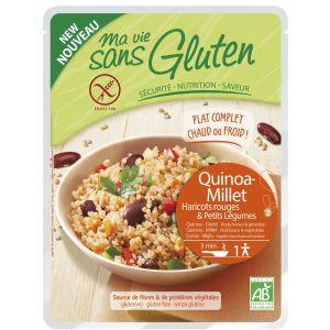 MIX QUINOA, MEI, FASOLE ROSIE BIO 220 g, Ma Vie Sans Gluten