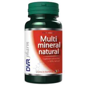 MULTIMINERAL NATURAL 60 capsule, DVR Pharm