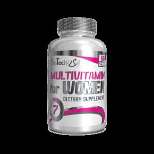 MULTIVITAMIN FOR WOMEN, 60 tablete, Biotech Nutrition