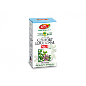 CONFORT EMOTIONAL N135, 60 capsule, Fares