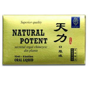 NATURAL POTENT (TIAN LI) 6 fiole, Naturalia Diet