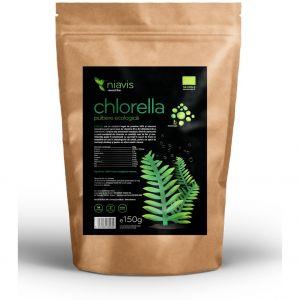 CHLORELLA PULBERE ORGANICA/BIO, 150 g, Niavis