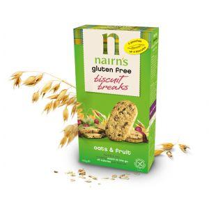 BISCUITI CU FRUCTE FARA GLUTEN 160 g, Nairn's