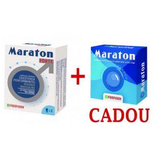 MARATON FORTE 4 capsule + MARATON PREZERVATIVE CADOU, Parapharm