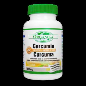 CURCUMIN (CURCUMINA) 500 mg, 60 capsule, Organika