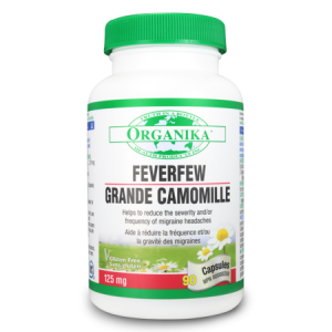 FEVERFEW EXTRACT 125 mg, 90 capsule, Organika