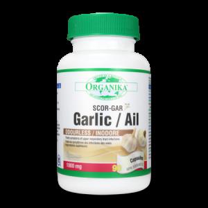 GARLIC AIL (USTUROI) 500 mg, 100 capsule, Organika