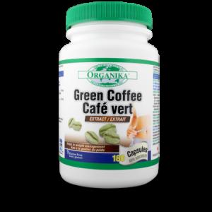 GREEN COFFEE (EXTRACT DE CAFEA VERDE) 180 capsule, Organika