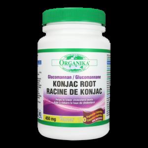 KONJAC ROOT GLUCOMANNAN 450 mg, 120 capsule, Organika