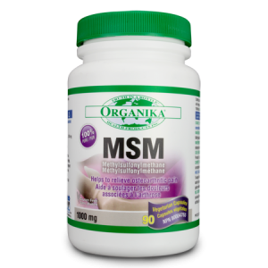 MSM 1000 mg, 90 capsule, Organika