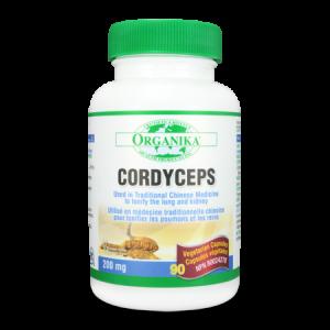 CORDYCEPS SINENSIS 200 mg, 90 capsule, Organika