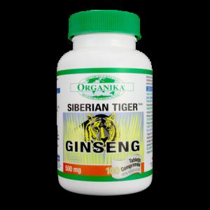 GINSENG TIGRU SIBERIAN 500 mg, 100 tablete, Organika