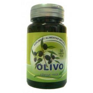 OLIVO - EXTRACT DIN FRUNZE DE MASLIN 375 mg, 30 tablete, Herbavit