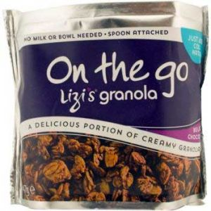"MUSLI GRANOLA SNACK ""ON THE GO"" CU CIOCOLATA BEGIANA 47 g, Lizi`s"