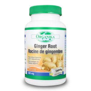 GHIMBIR RADACINA (GINGER ROOT) 500 mg, 90 capsule, Organika
