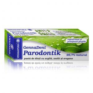 GENNADENT PARODONTIK - Pasta de dinti, 75 ml, Vivanatura