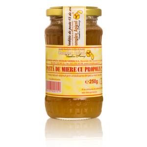 PASTA DE MIERE CU PROPOLIS (MIERE PROPOLIZATA 2%), 250 g, Complex Apicol