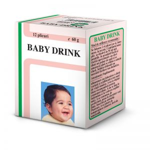 BABY DRINK - PULBERE INSTANT, 12 plicuri x 5 g, Pharco Impex