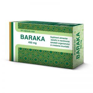 BARAKA 450 mg, 24 capsule moi, Pharco Impex