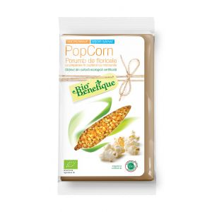 POPCORN BIO (PREPARARE LA MICROUNDE) 90 g, Sly Nutritia