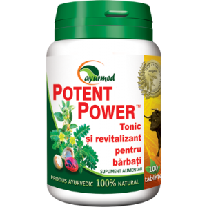 POTENT POWER 50/100 tablete, Ayurmed