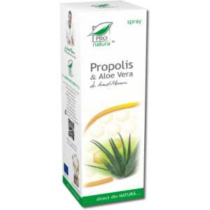 PROPOLIS & ALOE VERA SPRAY, 50/100 ml, Laboratoarele Medica