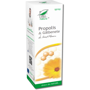 PROPOLIS & GALBENELE SPRAY, 50/100 ml, Laboratoarele Medica