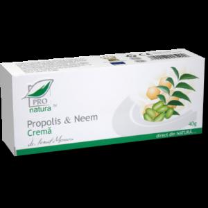 PROPOLIS & NEEM CREMA, 40 g, Laboratoarele Medica