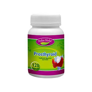 PROSTHYROID 60/120 capsule, Indian Herbal