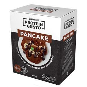 CLATITE PROTEICE - PROTEIN GUSTO CHOCOLATE PANCAKE 480 g, Biotech