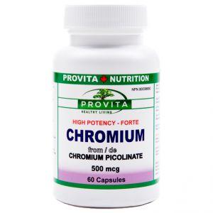 CHROMIUM PICOLINATE FORTE 500 mcg, Provita Nutrition