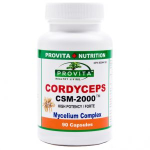CORDYCEPS CSM-2000 mg, 90 capsule, Provita Nutrition