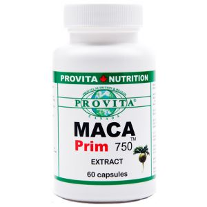 MACA PRIM 750 mg, 60 capsule, Provita Nutrition