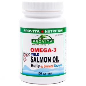 OMEGA 3 ULEI DE SOMON SABATIC 1000 mg, 100 gelule moi, Provita Nutrition