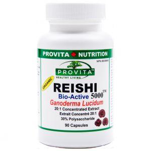 REISHI 5000 (Ganoderma Lucidum) 90/180 capsule, Provita Nutrition