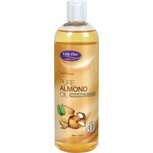 ALMOND PURE OIL 473 ml, Life-flo