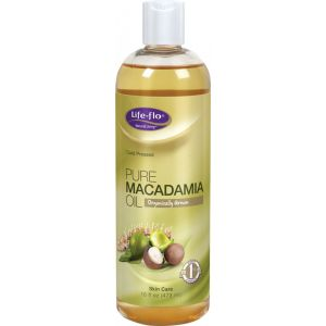 MACADAMIA PURE OIL 473 ml, Life-flo