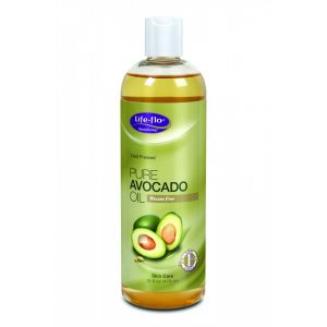 AVOCADO PURE OIL 473 ml, Life-flo