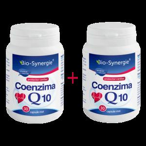 COENZIMA Q10 30 mg, 30 capsule 1+1 GRATIS, Bio Synergie