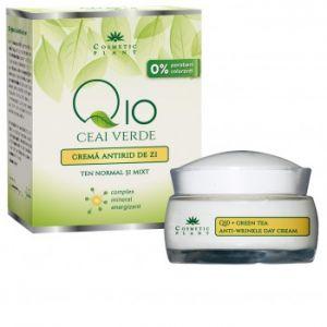 CREMA ANTIRID DE ZI Q10 + CEAI VERDE SI COMPLEX MINERAL ENERGIZANT 50 ml, Cosmetic Plant