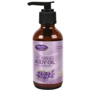 RELAXING BODY OIL WITH LAVANDER 118 ml, Life-flo