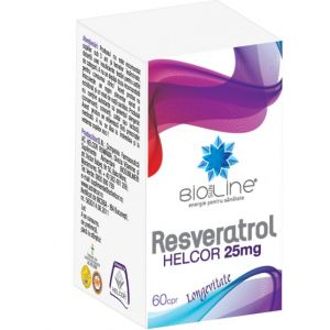 RESVERATROL 25 mg, 60 comprimate, Ac Helcor