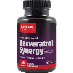 RESVERATROL SYNERGY 200, 60 tablete, Jarrow Formulas