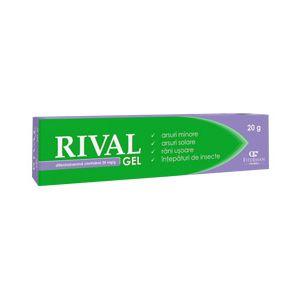 RIVAL GEL 20 mg, 20 g, Fiterman Pharma