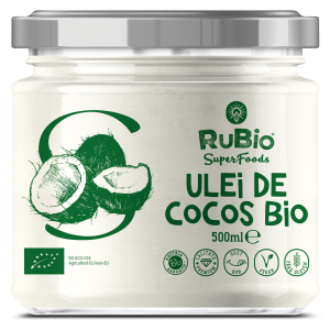 ULEI DE COCOS BIO 75/160/270/420 g, Vedda Rubio