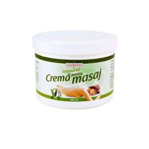 CREMA PENTRU MASAJ - EXTRACT SALVIE, 500/1000 ml, Casaherba