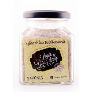 SARE DE BAIE CU LAPTE SI YLANG YLANG 250 g, Savonia