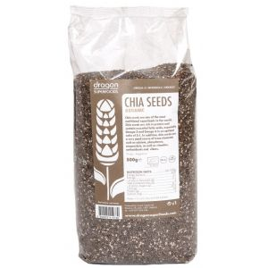 SEMINTE DE CHIA RAW BIO 500 g, Dragon Superfoods