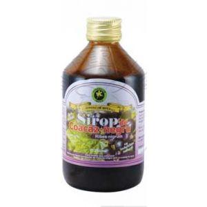 SIROP COACAZ NEGRU CU INDULCITOR 500 ml, Hypericum Impex