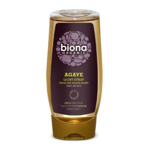 SIROP DE AGAVE LIGHT BIO, 500 ml, Biona